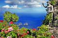 Beautiful capri island bella italia series Royalty Free Stock Photography