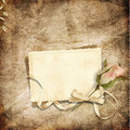 Beautiful card for congratulations or invitation Royalty Free Stock Photo