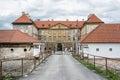 Beautiful castle in Holic, Slovakia, cultural heritage