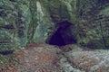 Beautiful cave in Latvia.