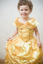 Beautiful child princess Stock Photography