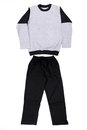 Beautiful children tracksuit on a white background Stock Images