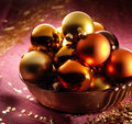 Beautiful Christmas Balls Royalty Free Stock Photos