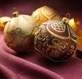 Beautiful Christmas Balls Royalty Free Stock Images
