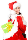 Beautiful christmas girl Royalty Free Stock Image