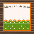 Beautiful  christmas placard Royalty Free Stock Photos
