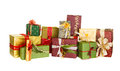Beautiful christmas presents Royalty Free Stock Photo