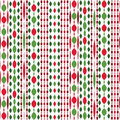Beautiful Christmas seamless pattern Royalty Free Stock Photography