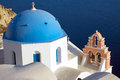 Beautiful church in Oia Royalty Free Stock Photography