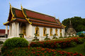 Beautiful church in temple thailand Stock Photos