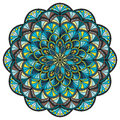 Beautiful circle mandala