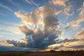 Beautiful Cirrus Clouds At Sun...