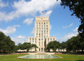 Beautiful city hall of Houston Royalty Free Stock Photography
