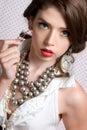 Beautiful Classy Woman Stock Images