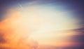 Beautiful clouds sky sunrise Royalty Free Stock Photo