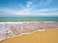 Beautiful coast of beach Royalty Free Stock Photo