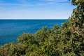 Beautiful coastal landscape with the adriatic sea near trieste in friuli venezia giulia italy Royalty Free Stock Photo