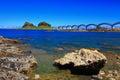 Beautiful coastline in taitung taiwan Royalty Free Stock Image