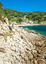 Beautiful coastlines in Elba island. Royalty Free Stock Image