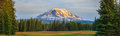 Beautiful Colorful Image of Mount Adams Royalty Free Stock Photo