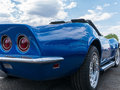 Beautiful Corvette Royalty Free Stock Photo