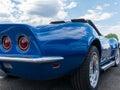 Beautiful Corvette Royalty Free Stock Photo
