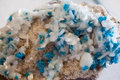 Beautiful cristals minerals and stones colors textures Stock Photography