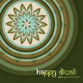 Beautiful culture art colorful diwali rangoli ornament pattern Royalty Free Stock Photos