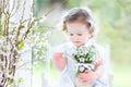 Beautiful Curly Toddler Girl W...