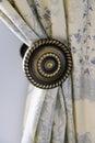 Beautiful curtain Royalty Free Stock Photo