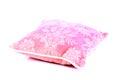 Beautiful cushion shot of on white background Royalty Free Stock Images