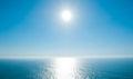Beautiful day on Atlantic Ocean Royalty Free Stock Photo