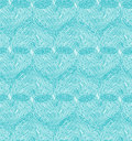 Beautiful design template with seamless abstract texture netting background turquoise hearts Stock Photo