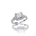 Beautiful Diamond engagement wedding ring Royalty Free Stock Photo