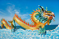 Beautiful dragon Royalty Free Stock Photography