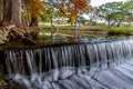 Beautiful Dreamy Flowing Curtain Waterfall near Cy Royalty Free Stock Photo