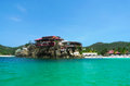 The beautiful eden rock hotel at st barts french west indies june on june french west indies is one of Royalty Free Stock Photography