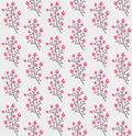 Beautiful endless pattern flowers Royalty Free Stock Image