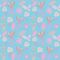Beautiful endless pattern soft colors your design Stock Photo
