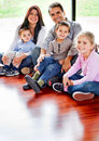 Beautiful family Royalty Free Stock Photo