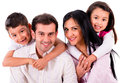 Beautiful family portrait Royalty Free Stock Photo