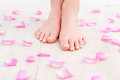 Beautiful feet. Royalty Free Stock Photo