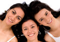 Beautiful female friends Royalty Free Stock Images