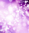 Beautiful festive fantasy bokeh background with stars Royalty Free Stock Images
