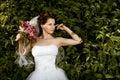 Beautiful fiancee Stock Image