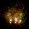 A beautiful fireworks Royalty Free Stock Image