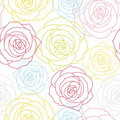 Beautiful floral seamless background Stock Image