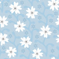 Beautiful floral seamless pattern. Drawn by hand.