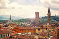 Beautiful florence view of italy Stock Images