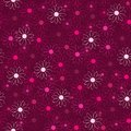 Beautiful flower background pink seamless pattern Stock Photo